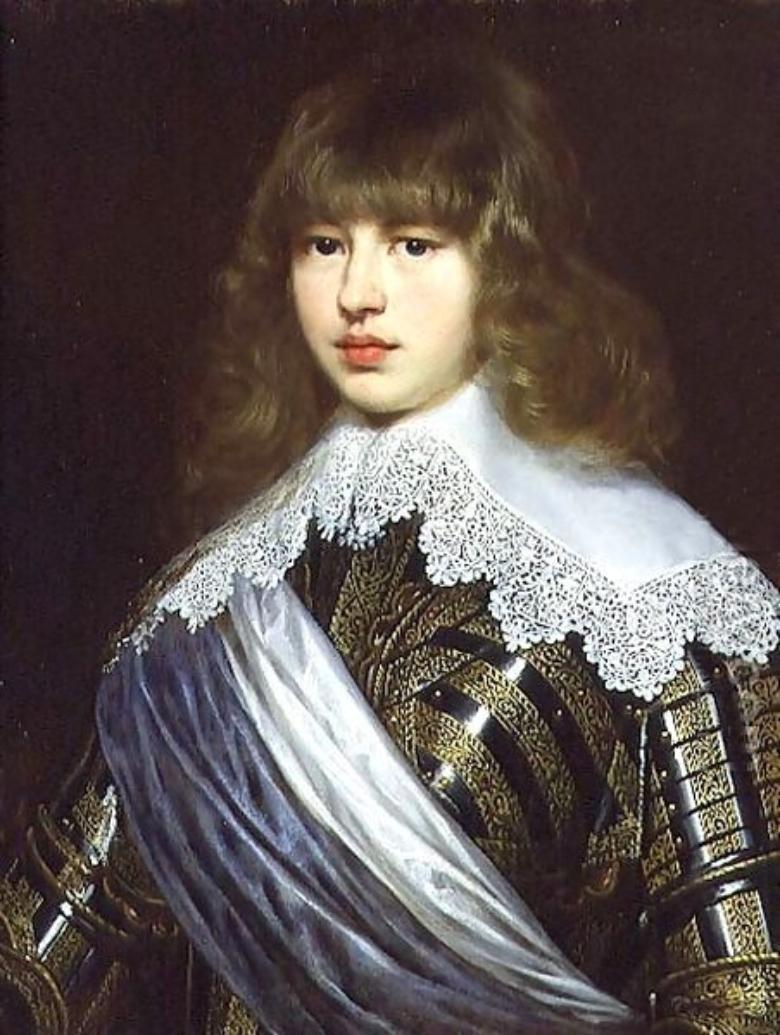 Portrait of Prince Waldemar Christian of Denmark by Justus Sustermans