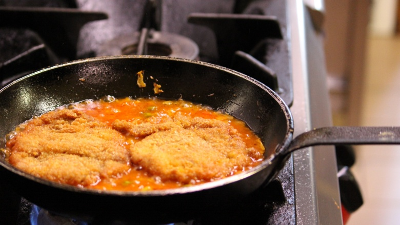 Veal escalopes