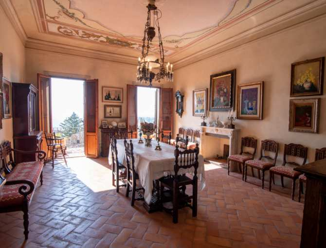 Dining room of Torre e Casa Campatelli
