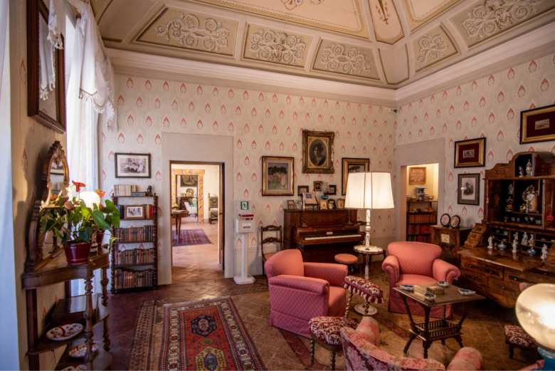 Sitting Room in the Torre Campatelli