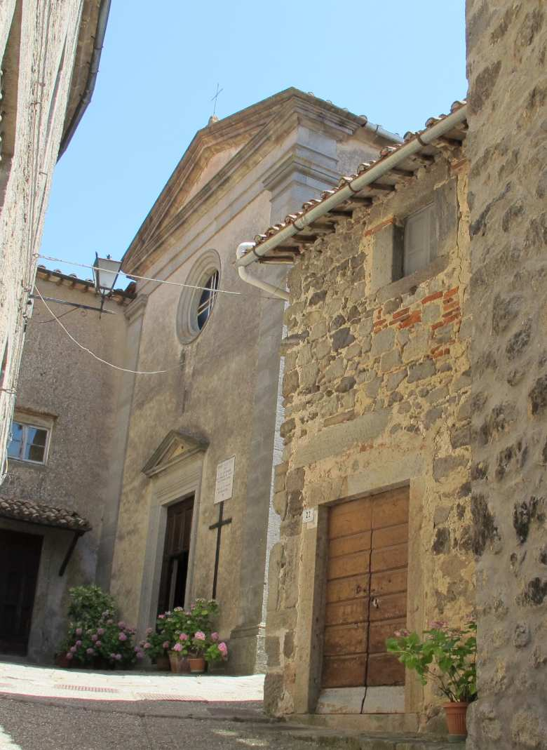 Kirch Santa Chiara in Santa Fiora