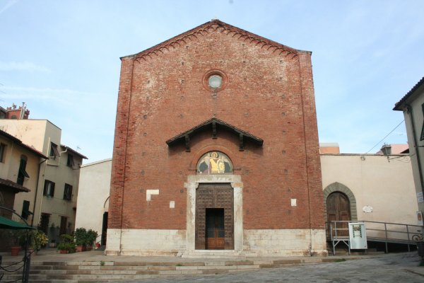 Die Konkathedrale Sant'Antimo in Piombino