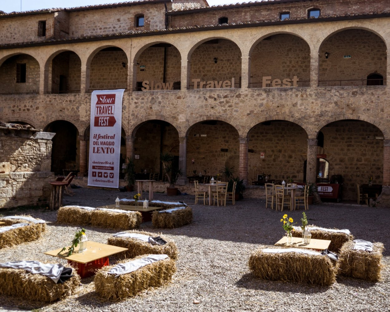 Slow Travel Fest, Abbadia a Isola