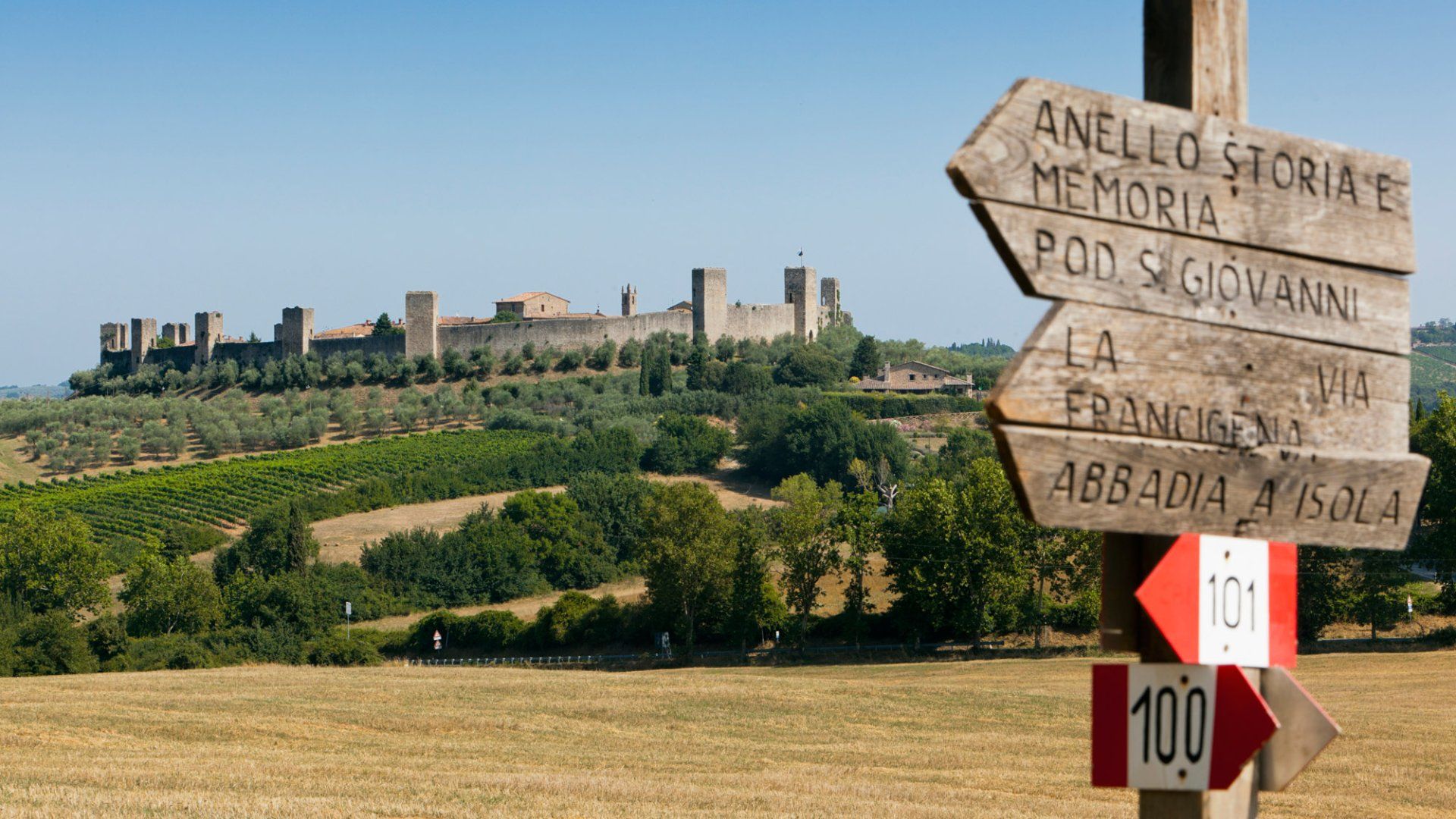 Via Francigena - top
