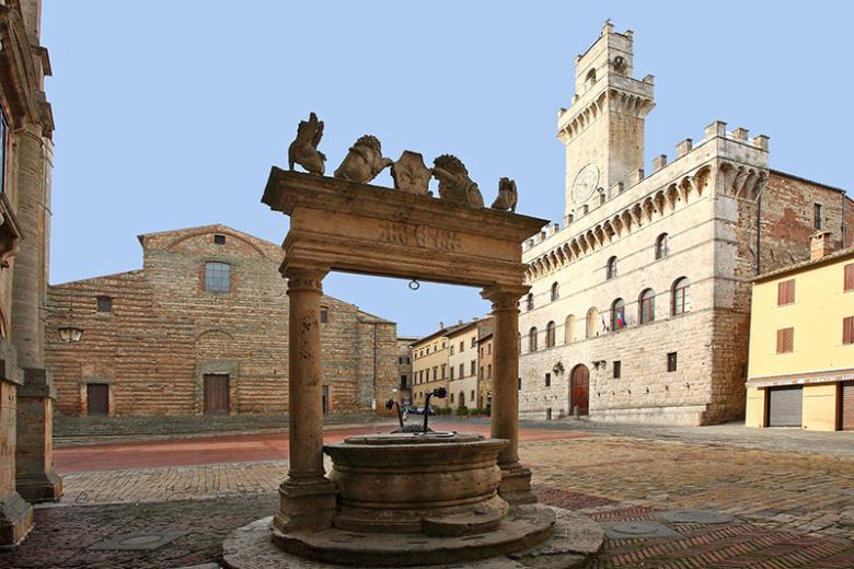 Cathedral and Piazza in Montepulciano