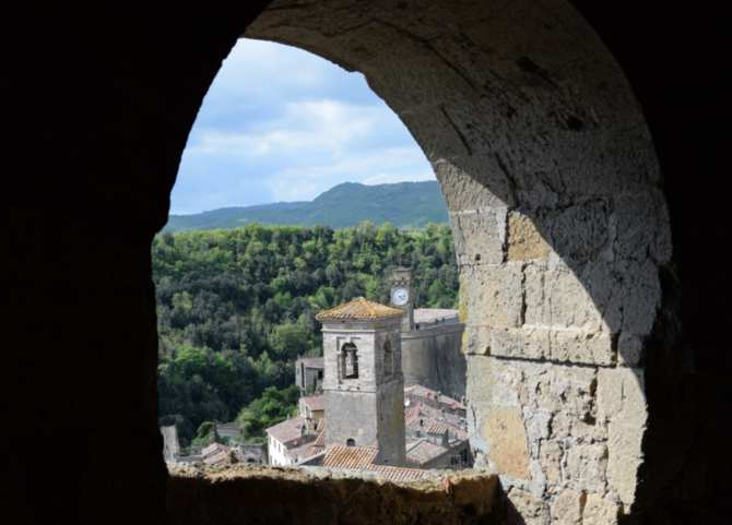 view from the Orsini Fortress