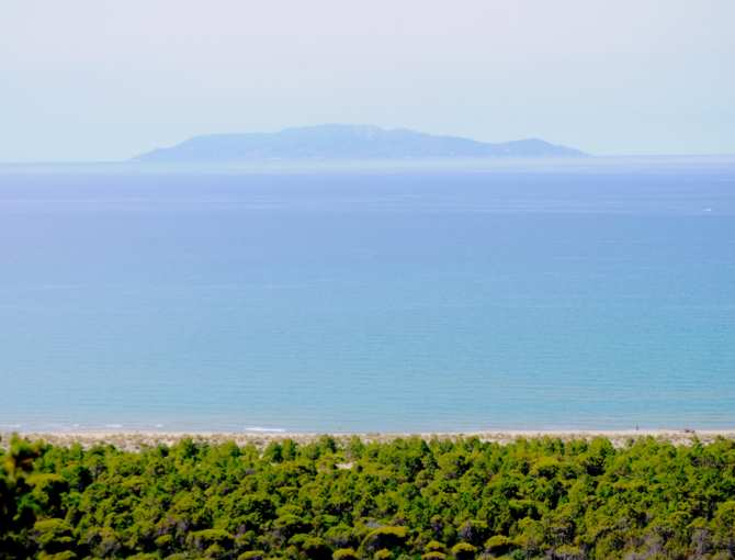 Earth & sea at Maremma Natural Park