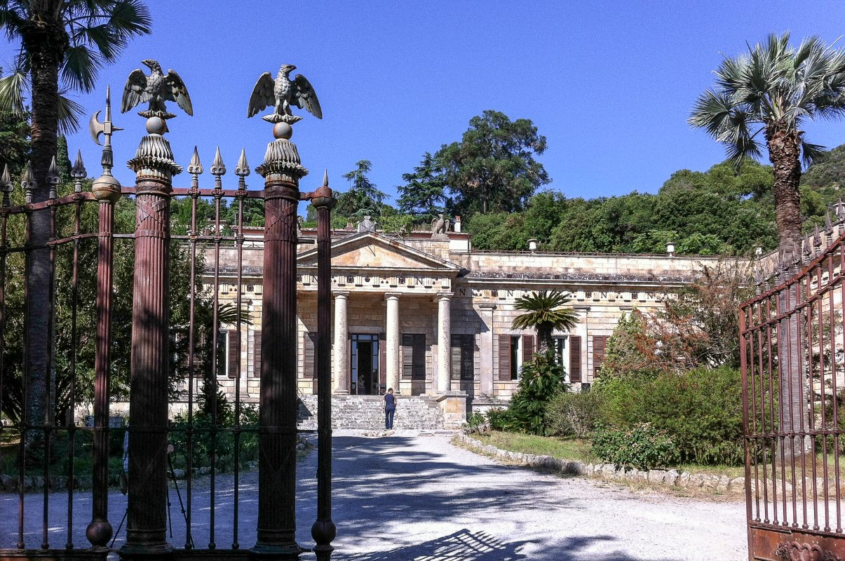 Interni Di Villa San Martino : Museo nazionale delle residenze napoleoniche: villa san martino