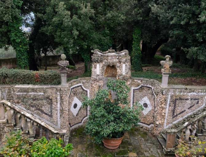 Villa Gamberaia, the garden
