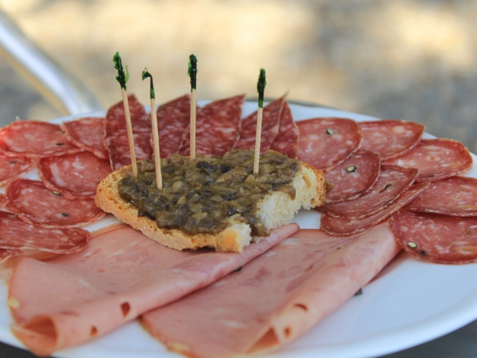 wild boar cold cuts