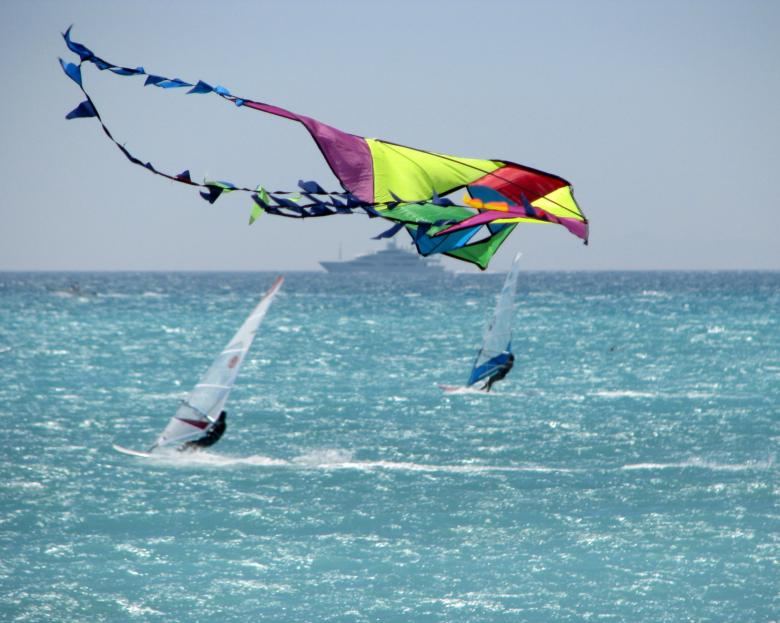 Windsurf in Vada